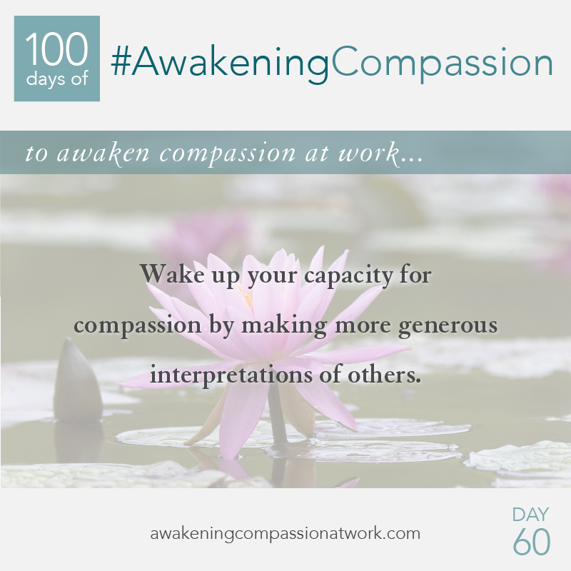 #AwakeningCompassion Day 60