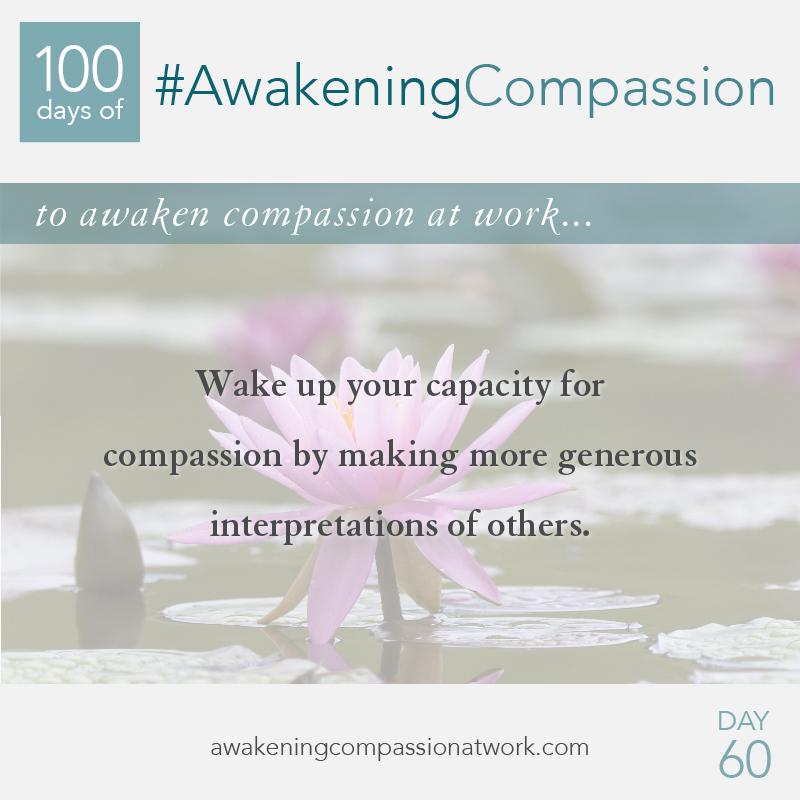 #AwakeningCompassion Day 60