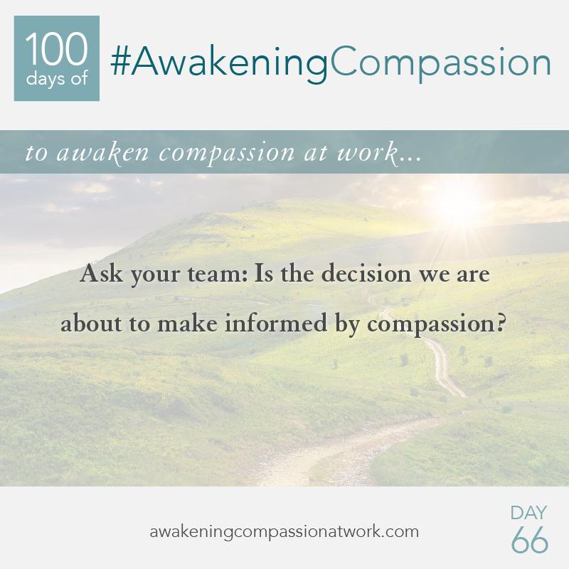 #AwakeningCompassion Day 66