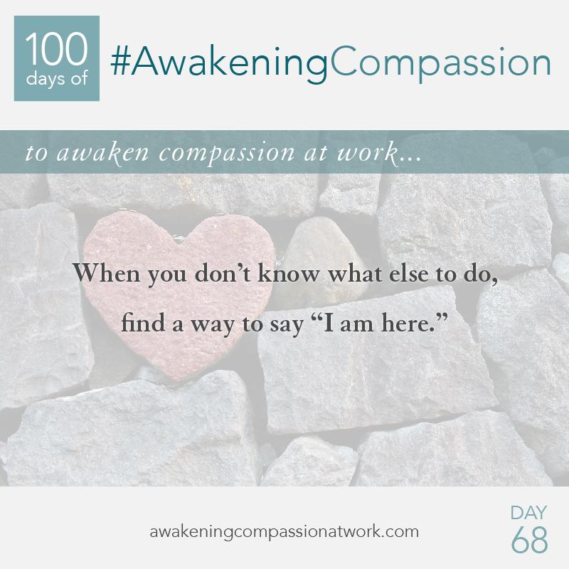 #AwakeningCompassion Day 68